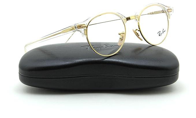 664c2c9c0 Amazon.com: Ray-Ban RX4246V Club-Round Unisex Eyeglasses RX-able ...