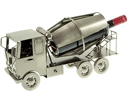 H-LINE hLine Soporte para Botellas Hormigonera Botella Soporte Camiones De Metal