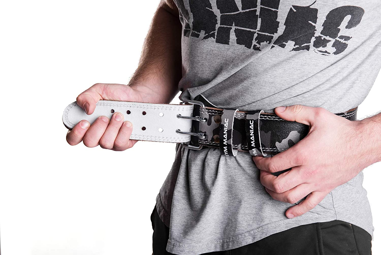 31d8cf375a Amazon.com   Gym Maniac GM Weight Lifting Waist Gym Belt ...