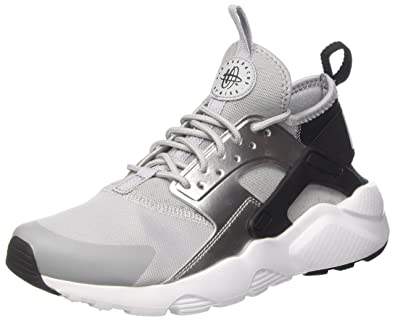 NIKE Air Huarache Run Ultra (GS), Sneakers Basses Mixte Enfant, Noir (