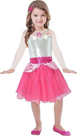 amscan – Disfraz de Barbie para niñas - Vestido Rock & Royals ...