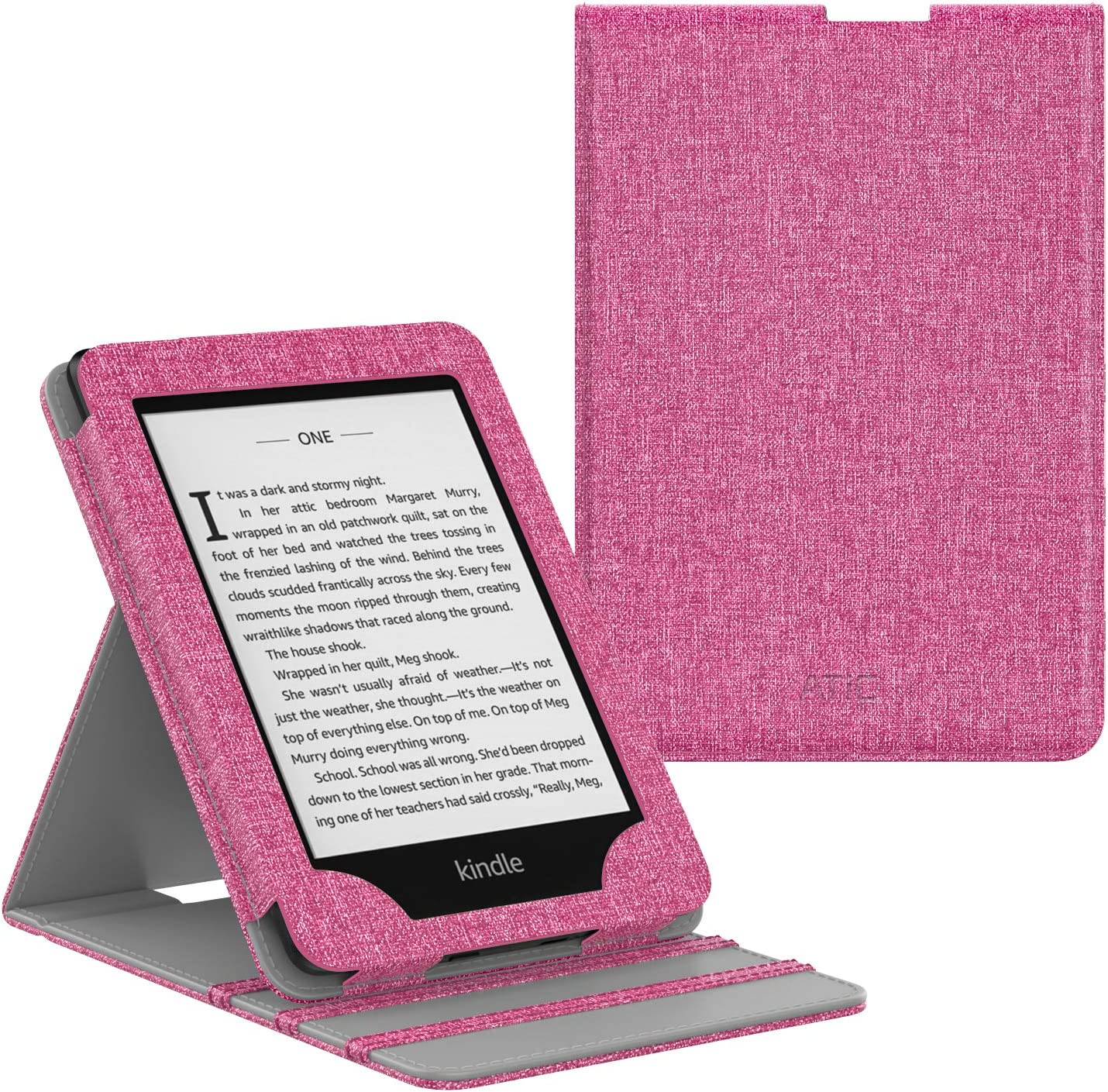 Protective Cover for Kindle 7th Generation Magenta will not fit previous generation Kindle devices