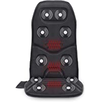 Comfier Massage Seat Cushion with Heat - 10 Vibration Motors, 3 Heating Pad, Back Massager for Chair, Massage Chair Pad…