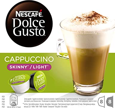 Nescaf? Dolce Gusto Skinny Cappuccino 16 Capsules, 8 servings ...