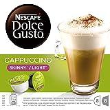 Nescafé Dolce Gusto Cappuccino Light, sin Azúcar, Paquete de 3, 3 x 16 Cápsulas (24 Tazas)