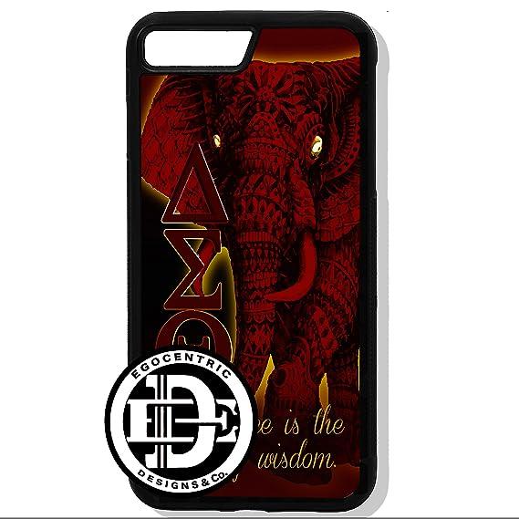 official photos b7dbb afd37 Amazon.com: (iPhone 8 Plus) EGOCENTRIC DESIGN & CO. Delta Sigma ...