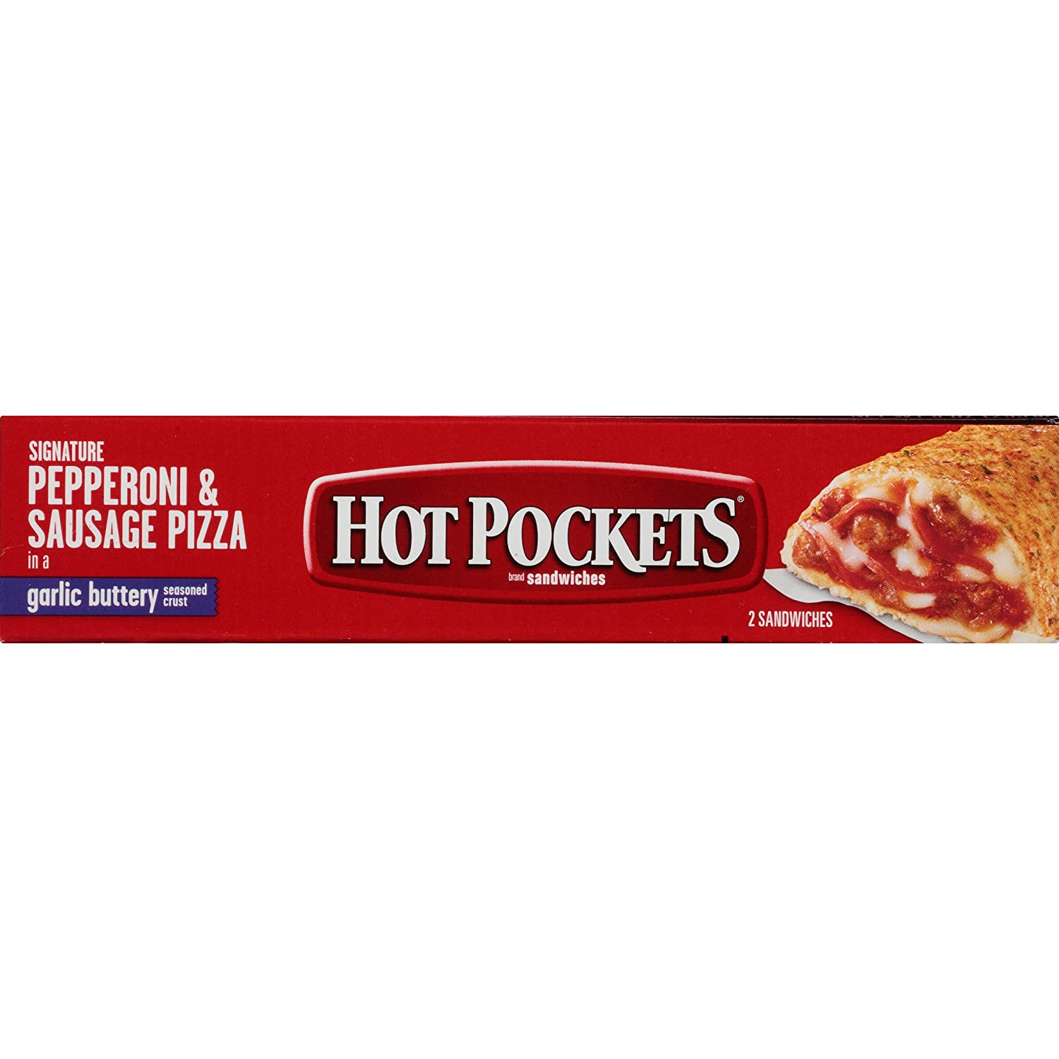 HOT POCKETS Frozen Sandwiches Pepperoni & Sausage Pizza 2-Pack: Amazon.com: Grocery & Gourmet Food