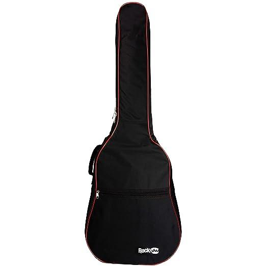 20651ac9bf4 Rockburn Delux Electric Padded Guitar Bag - Black: Amazon.co.uk: Musical  Instruments