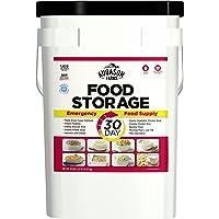 Augason Farms 30-Day Emergency Food Storage Supply 29 lb 4.37 oz 8.5 Gallon Pail
