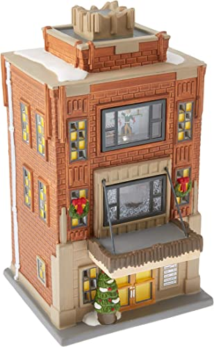 Department 56 Elf the Movie Village Buddy s Apartment Lit House