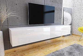 Tv Lowboard Hängeboard Tisch Board Schrank Mit Hochglanz 180