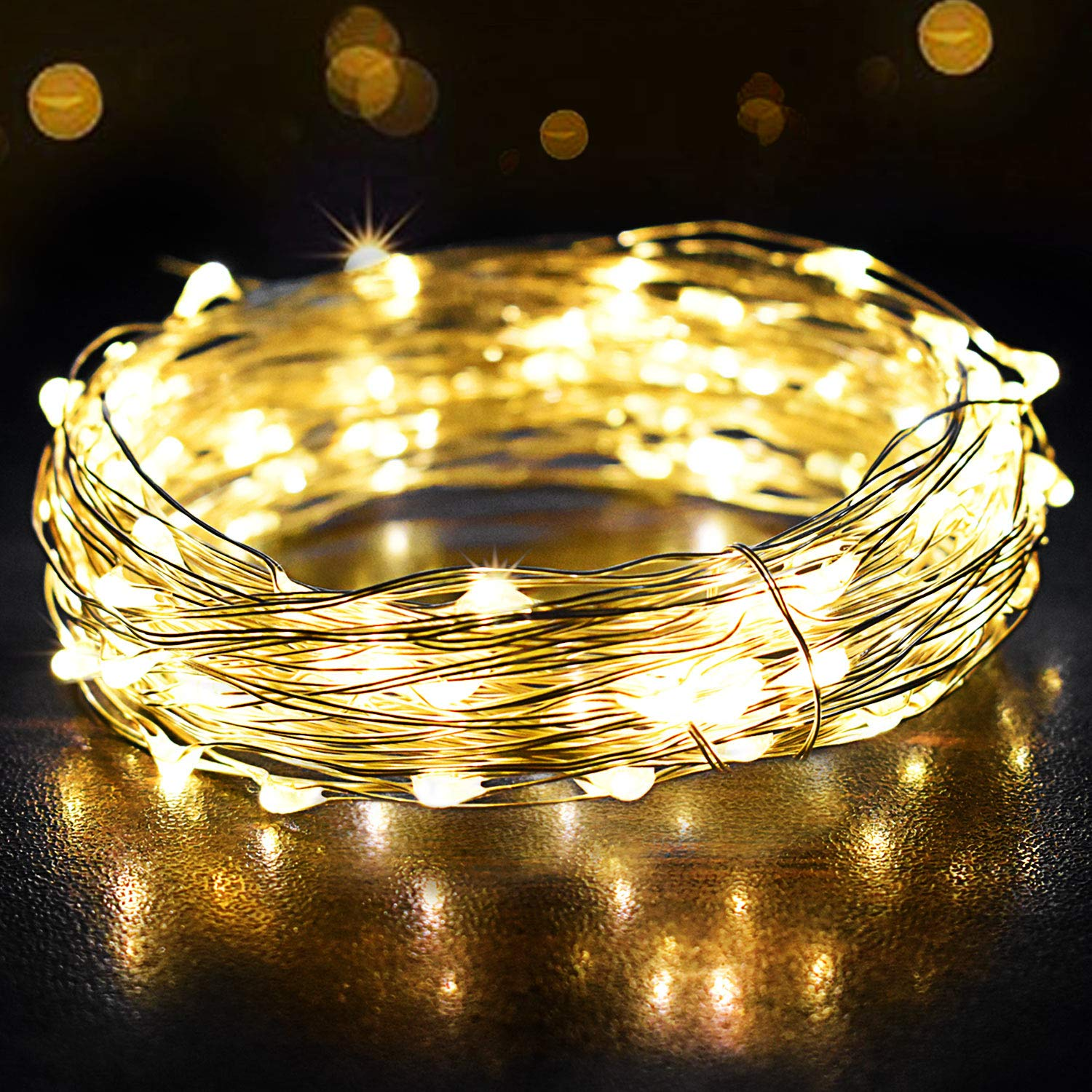 Fairy Lights, OMERIL 12m/39ft 120 LEDs String Lights