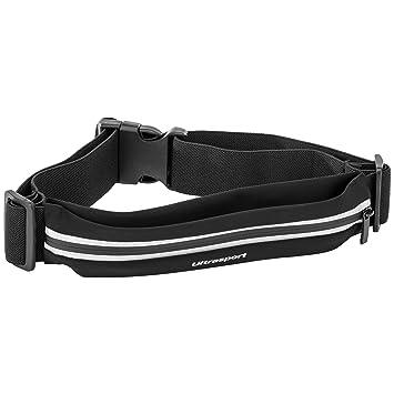 f8c382128d Ultrasport Belt Bag Sport Belt Bag with Zipped Compartments - Black