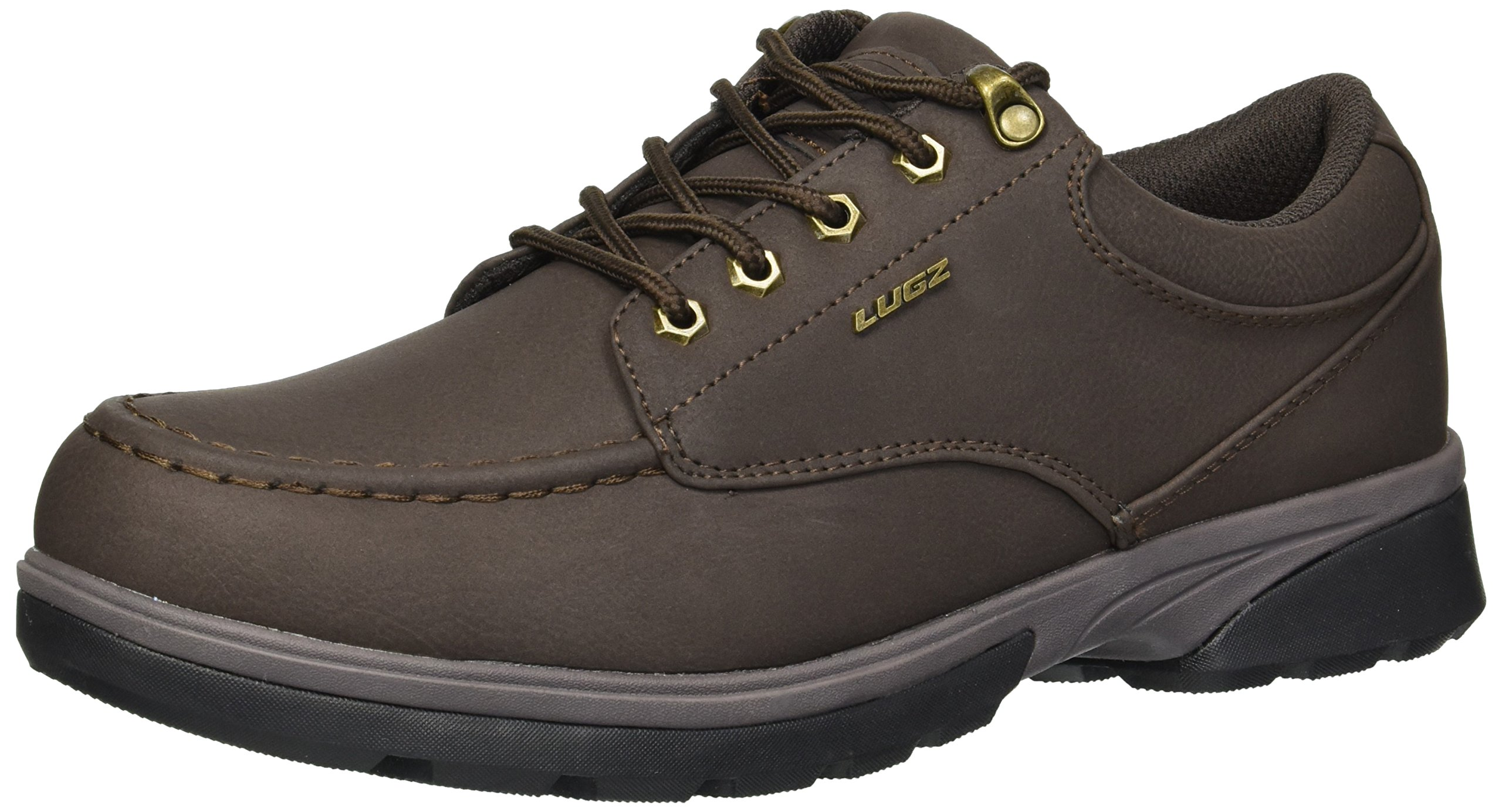 Lugz Men's Stack LO Oxford Boot, Dark Brown/Brown/Black, 9 D US