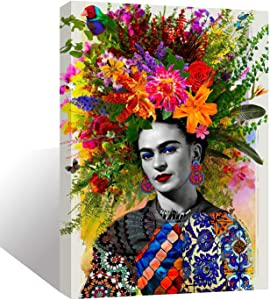 Wall Art Inner-Framed Canvas Prints for Living Room Bedroom and Home Decorations HD Print Painting for Home Decor Ready to Hang - Gitana Frida