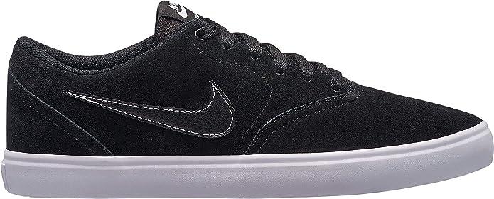 Nike SB Check Solarsoft Sneakers Skateboardschuhe Herren Schwarz/Weiß