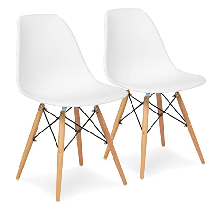 Mid century modern chair styles Metal Accent Image Unavailable Nepinetworkorg Amazoncom Best Choice Products Set Of Eames Style Dining Chair
