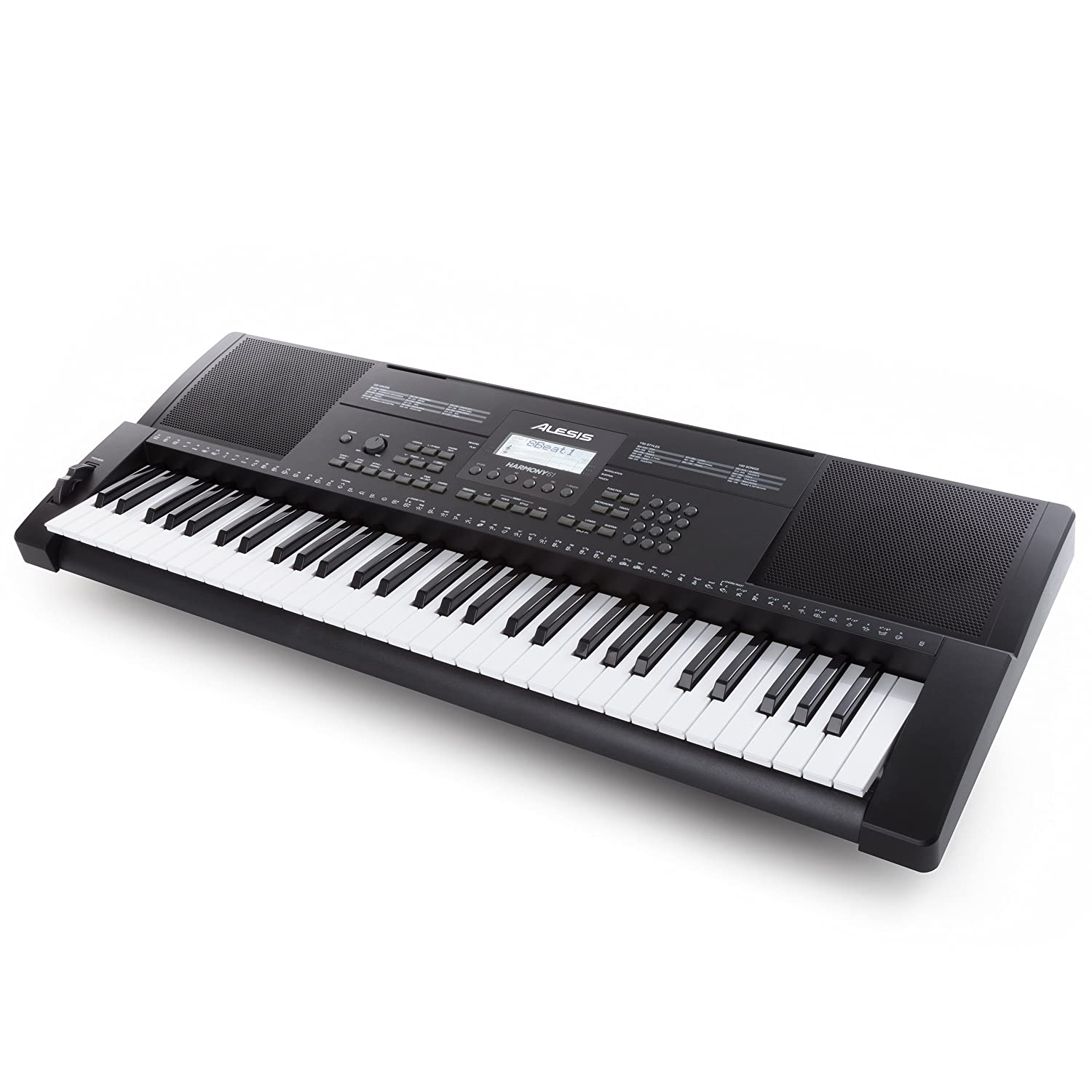 Alesis Harmony 61-61 Key Ultra-Portable Keyboard With Velocity-Sensitive Keys, Built-in Speakers, 300+ In-Demand Sounds and 3-Month Skoove Premium Subscription inMusic Brands Inc. HARMONY61XUS