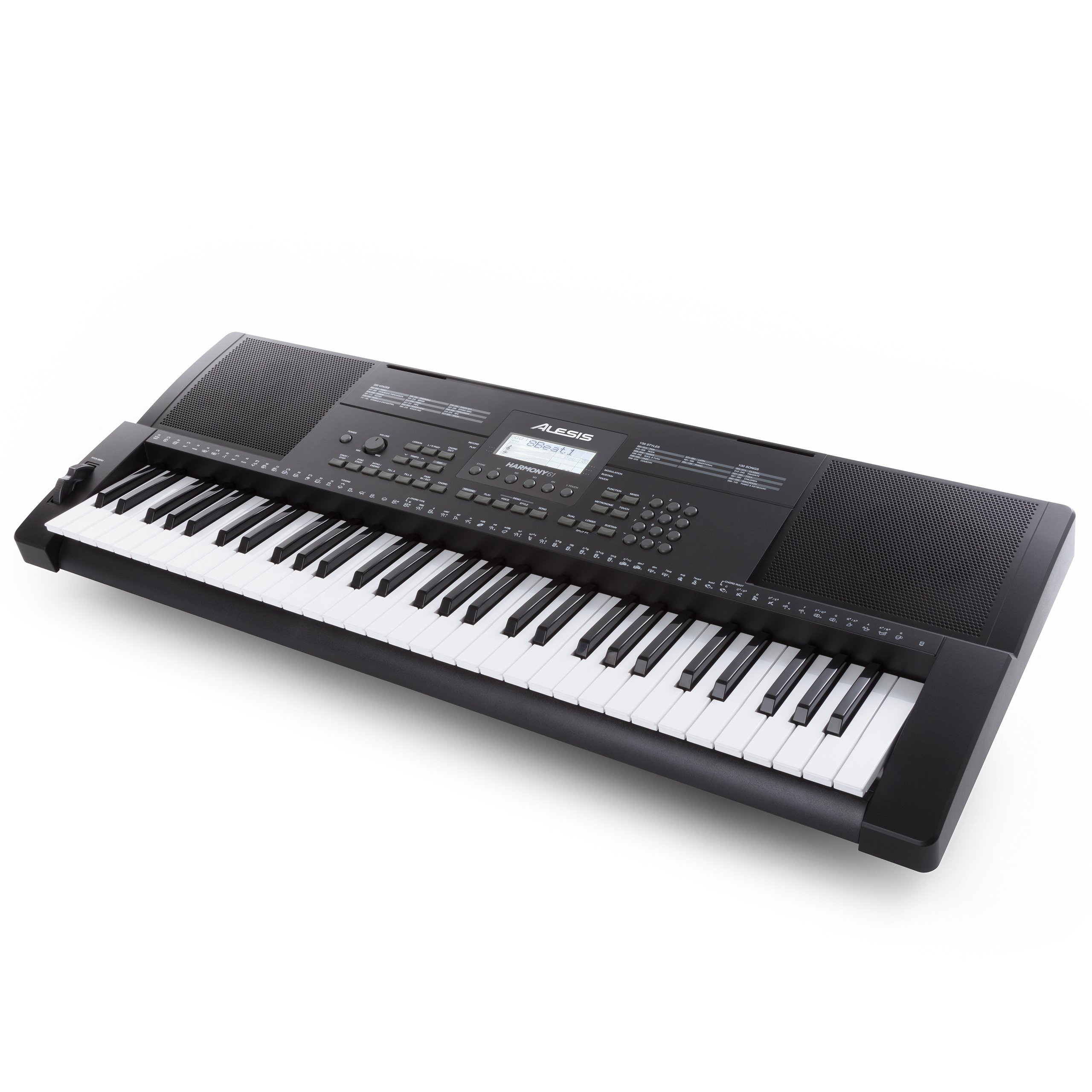 Alesis Harmony 61 - 61 Key Ultra-Portable Keyboard With Velocity-Sensitive Keys, Built-in Speakers, 300+ In-Demand Sounds and 3-Month Skoove Premium Subscription