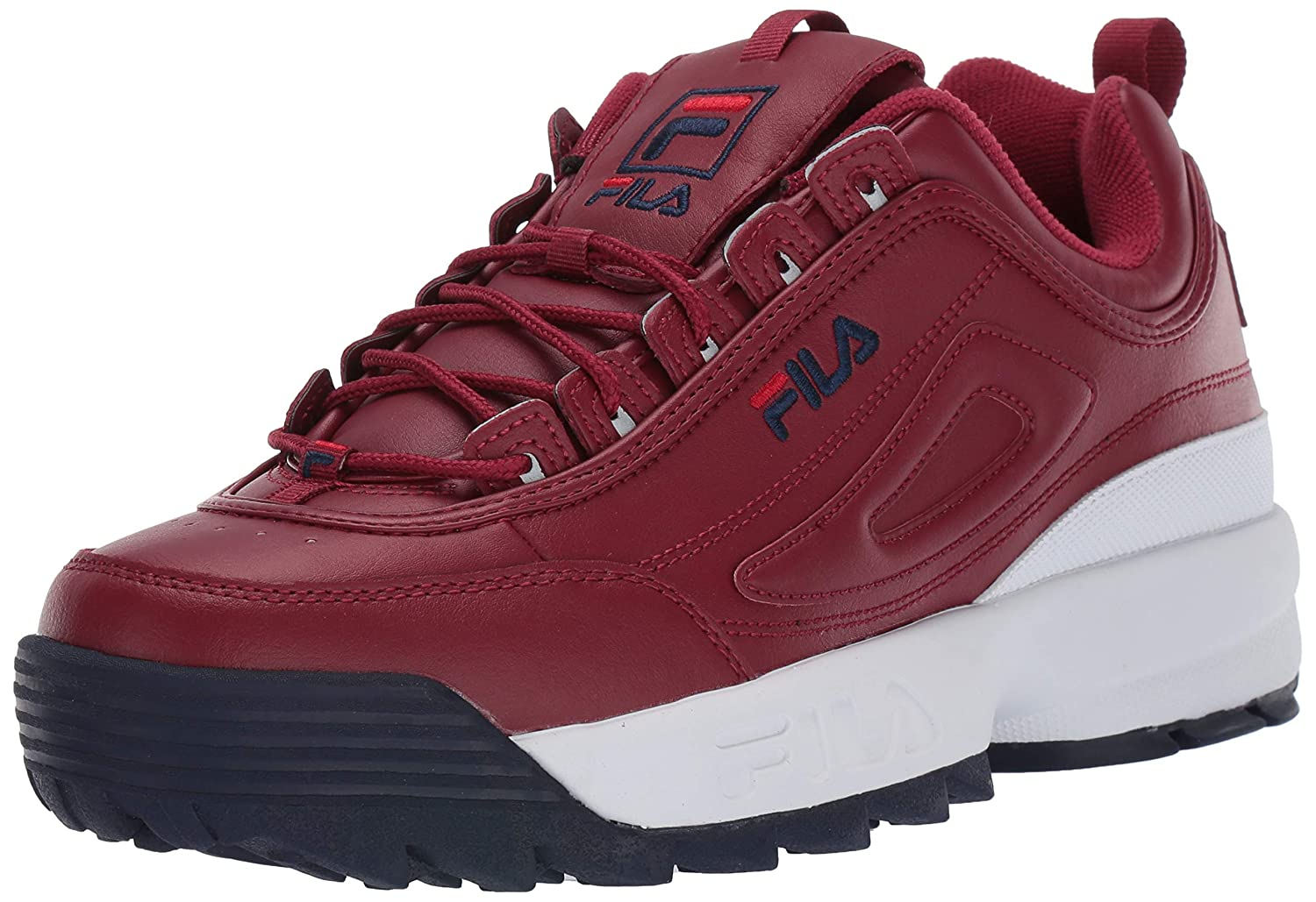 Biking Red Fila Navy Fila Red Fila Men's Disruptor II Sneaker