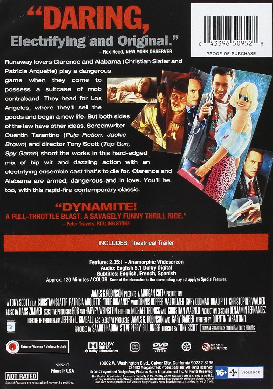 True Romance [Edizione: Stati Uniti] [Italia] [DVD]: Amazon ...