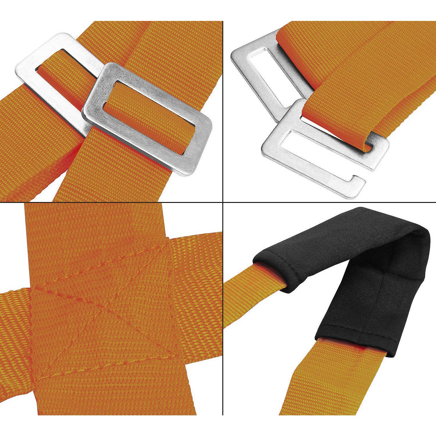Moving and Lifting Straps for Furniture Construction,Lifting Straps Support 600Lbs Heavy Object,Carrying straps With Bonus Gloves By LUESBOEK Boxes Mattress
