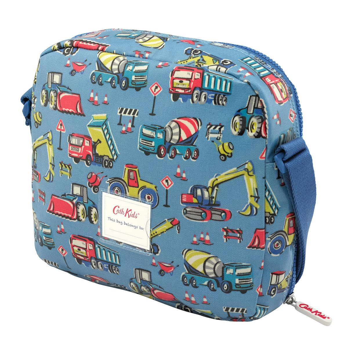 a1e0147c87 Cath Kidston Kids Lunch Bag in Blue Construction Design  Amazon.co.uk   Luggage