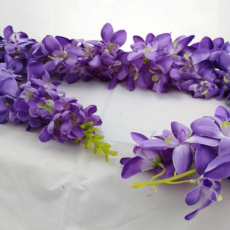 Custom Forever Flower Celebration Blossom Lei 20 inches