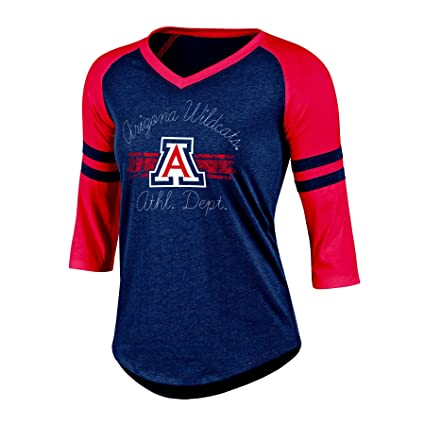 a81c0f4c9d2d33 Amazon.com   NCAA Women s Poly+ Raglan Tee   Sports   Outdoors