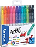 Pilot Frixion Colors Erasable Fibre Tip Colouring Pen - Assorted, Pack of 12