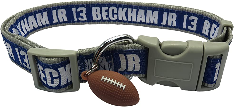NFL New York Giants Team Pet Collar Large