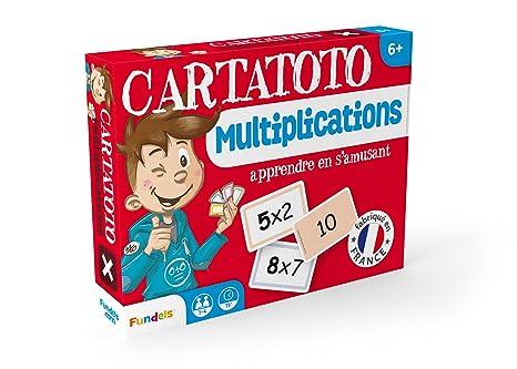 Cayro-410010 Juego Cartas Multiplicar Cartatoto +6 años, (410010)