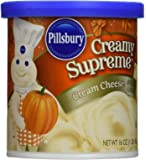 Pillsbury Cream Cheese Flavored Frosting, 16 Ounce (Pack of 2)