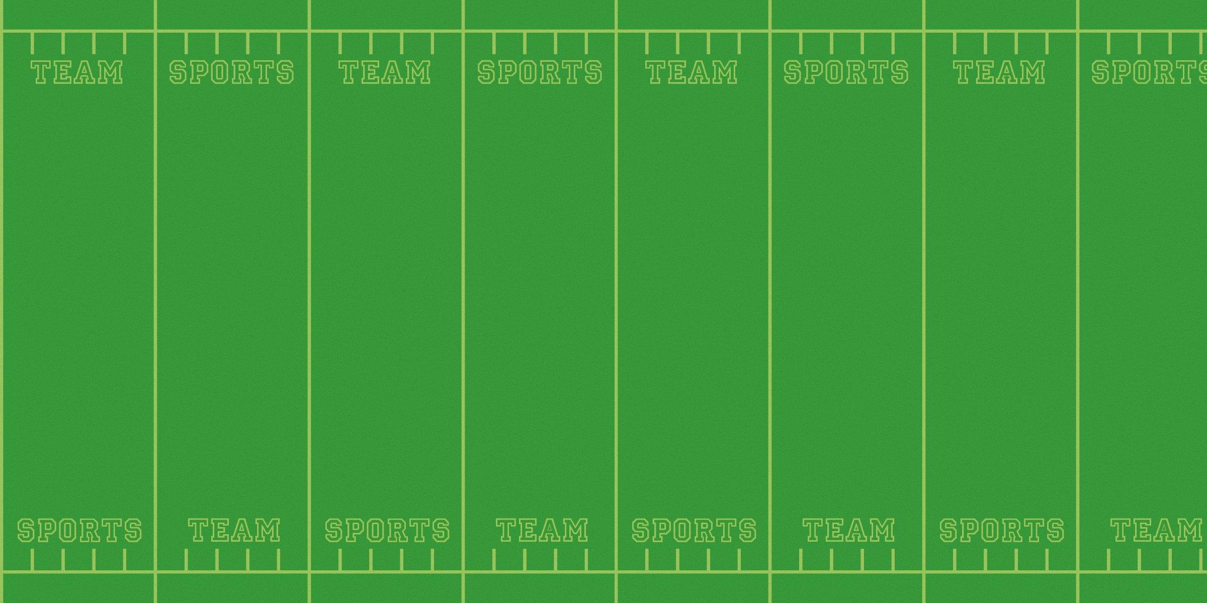 Fadeless  Bulletin Board Art Paper, Team Sports,  48'' x 12', 1 Roll by Fadeless