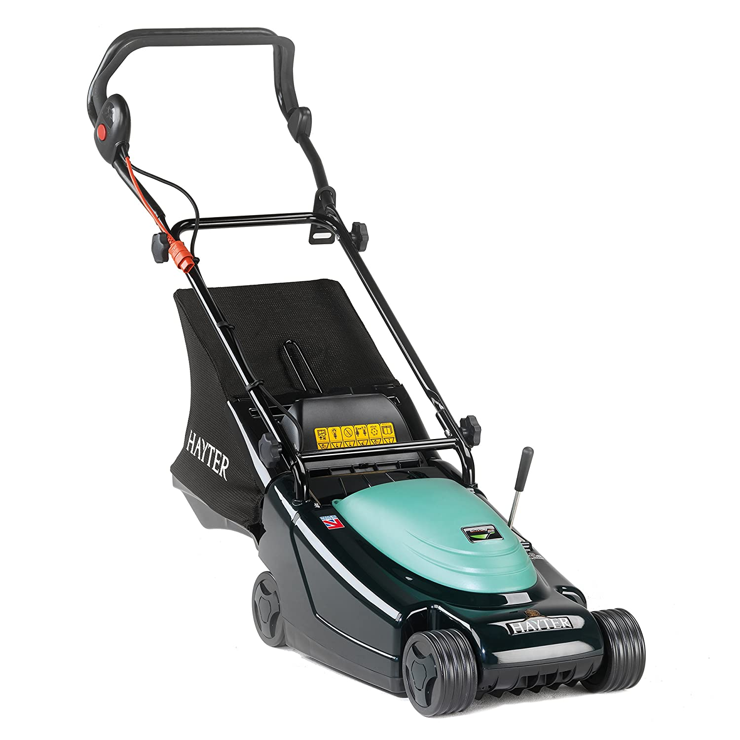 Hayter Envoy 36 Electric Corded Rear Roller Mower, 230W, 36cm Wide, Push Along Hayter Limited CODE100J