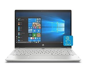 HP Pavilion X360 14-Inch Convertible Laptop, Intel Core I5-8265U Processor, 8 GB RAM, 1 TB Hard Drive & 128 GB Solid-State Drive, Windows 10 Home (14-cd1042nr, Mineral Silver)