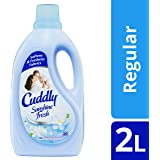 Cuddly Sunshine Fresh Fabric Softener Conditioner Long Lasting fragrance 2 Litre