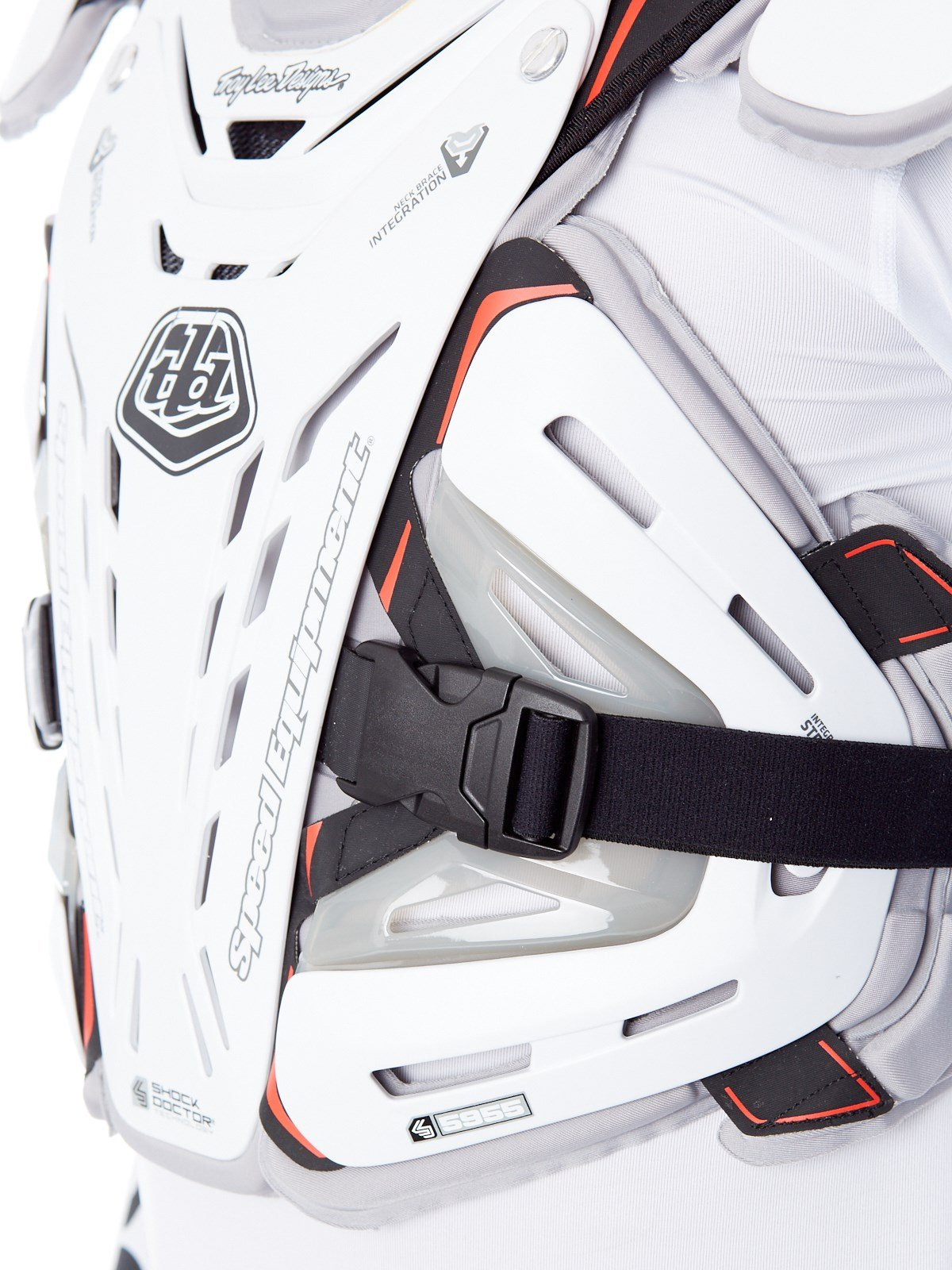 Troy Lee Designs 5955 Chest Body Guard-White-L by Troy Lee Designs (Image #5)