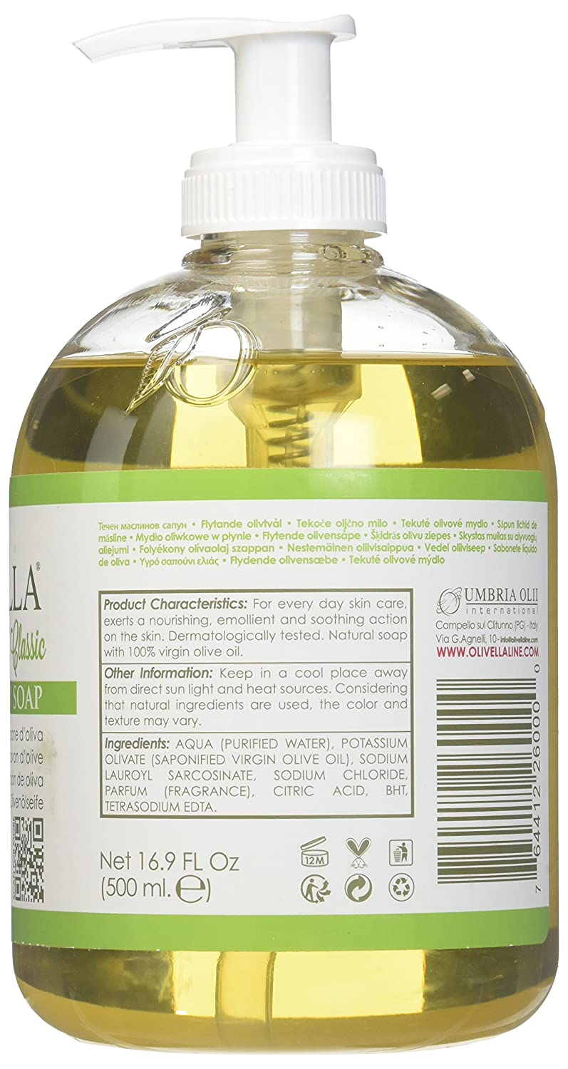 Amazon.com : Olivella Liquid Soap Size 16.9z, Pack of 3 : Bath Soaps : Beauty