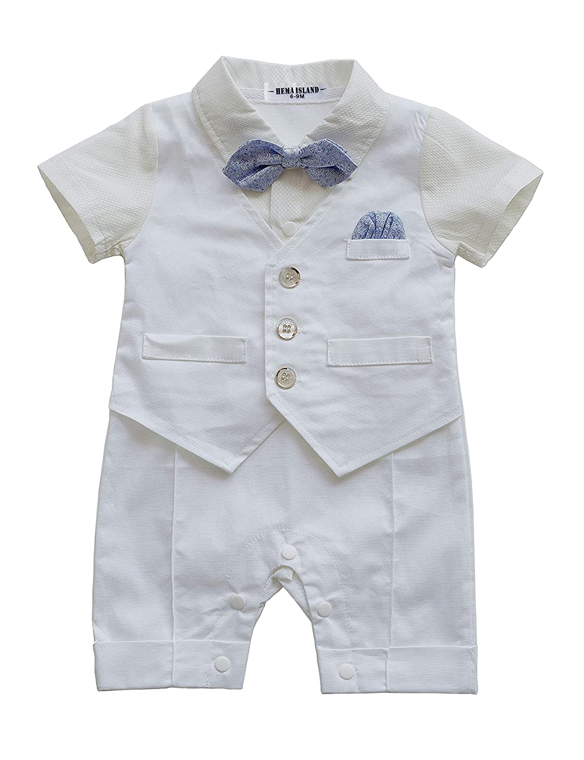 【大注目】 HeMa Island SHIRT SHIRT ベビーボーイズ B07DHJ49ZR ホワイト 9 12 - - 12 Months 9 - 12 Months|ホワイト, GOOD TOOLS:8b908483 --- arianechie.dominiotemporario.com