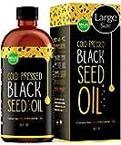 MAJU's Black Seed Oil 16oz: 3x% Thymoquinone, Cold Pressed, no Pesticides, 100% Turkish Black Cumin Nigella Sativa Seed…