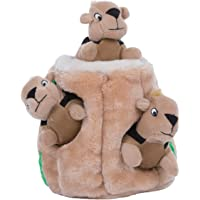 Outward Hound Hide-A-Squirrel and Puzzle Plush Squeaking Toys for Dogs