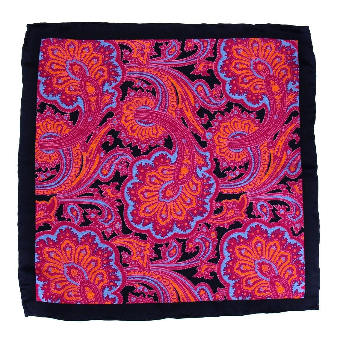 Violet Aficionado Silk Pocket Square