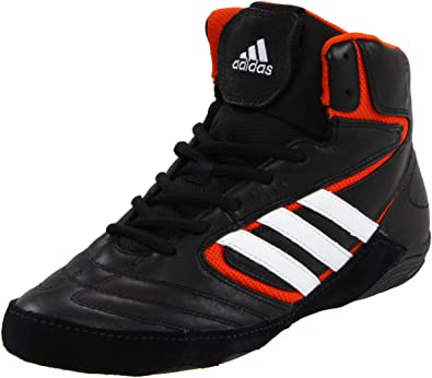 e8c001d2 adidas Men's Matt Wizard IV JS-M, Black/White/Collegiate Orange 12