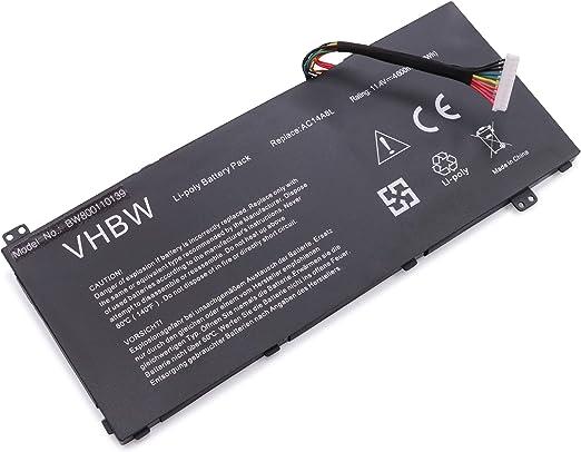 Vhbw Akku Kompatibel Mit Acer Aspire V15 Nitro Vn7 Computer Zubehör