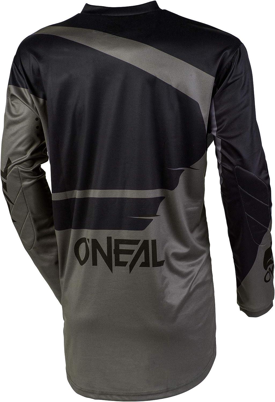 Black//Gray, 3XL ONeal Element Racewear Adult Jersey