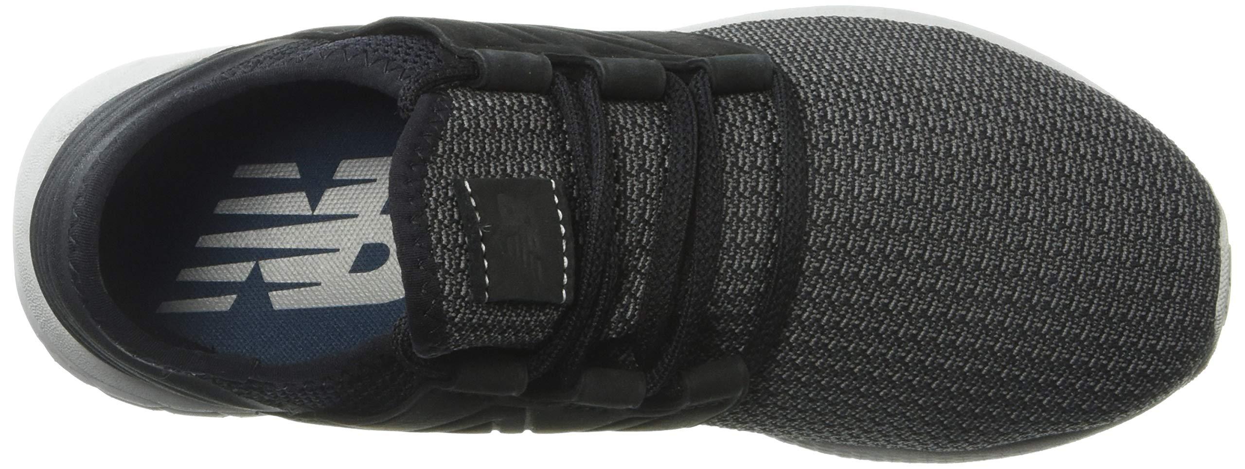 New Balance Men's Cruz V2 Fresh Foam Running Shoe, black/castlerock/nubuck, 7 D US by New Balance (Image #8)