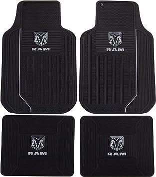 Dodge Ram Elite Series Front /& Rear Car Truck SUV Seat Rubber Floor Mats