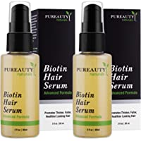 Biotin Hair Growth Serum Advanced Topical Formula To Help Grow Healthy, Strong Hair Suitable for Men and Women of All…