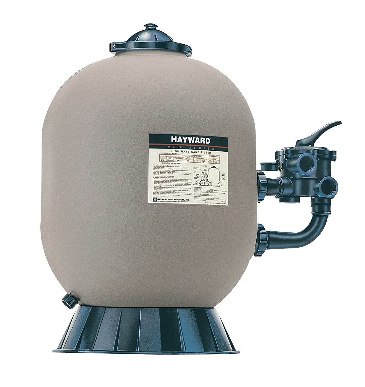 Amazon.com : Hayward S210S ProSeries Sand Filter, 20-Inch, Side-Mount :  Faucet Mount Water Filters : Garden & Outdoor